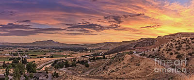 Photograph - Beautiful Morning Over The Valley by Robert Bales