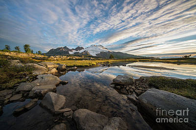 Photograph - Beautiful Mount Baker Morning by Mike Reid