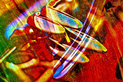 Abstract Digital Photograph - Beautiful Music by Jeff Swan