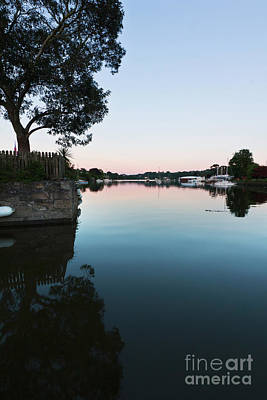 Photograph - Beautiful Mylor Creek As The Sun Sets by Terri Waters