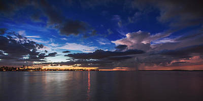 Cloud Photograph - Beautiful Nights by Michael Frizzell