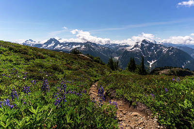 Photograph - Beautiful North Cascades by Serge Skiba