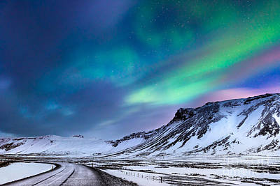 Photograph - Beautiful Northern Lights by Anna Om