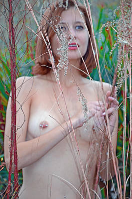 Tall Nude Woman Photograph - Morning In Edin by Robert Magnus