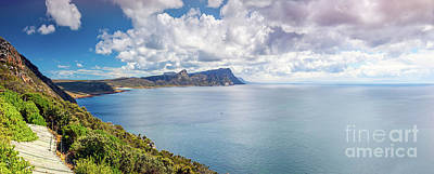 Photograph - Beautiful Ocean Panoramic View by Anna Om