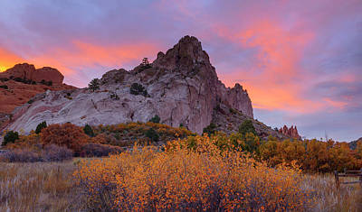 Art Print featuring the photograph Beautiful October by Tim Reaves