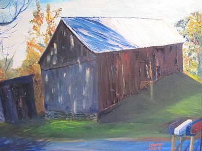 Beautiful Old Barn Art Print by Gloria Condon