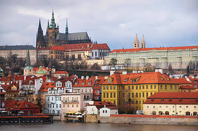 Karluv Most Photograph - Beautiful Old Prague by Jenny Rainbow