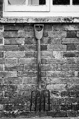 Potting Shed Photograph - Beautiful Old Vintage Potting Shed Exterior Detail In English Co by Matthew Gibson