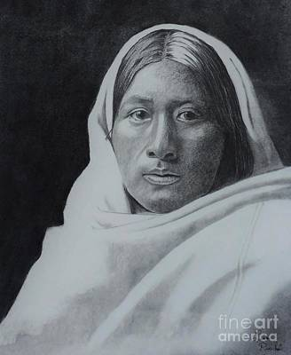 Beautiful Papago Women Original