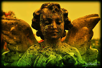 Graveyard Digital Art - Beautiful Patina by Melissa Wyatt