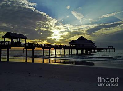 Photograph - Beautiful Pier 60 Sunset by D Hackett