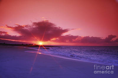 Beautiful Pink Sunset Art Print by Vince Cavataio - Printscapes