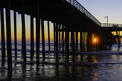 Luis Photograph - Beautiful Pismo Beach Sunset by Garry Gay