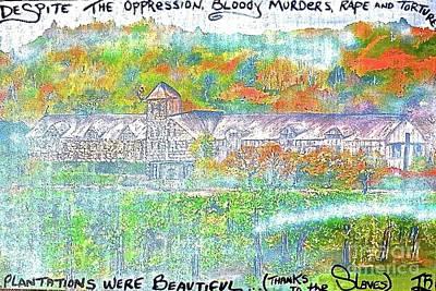 Liberal Painting - Beautiful Plantation by Tony B Conscious