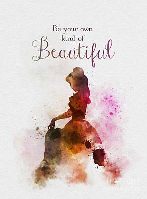 Mixed Media - Beautiful by Rebecca Jenkins