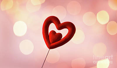 Photograph - Beautiful Red Heart by Anna Om