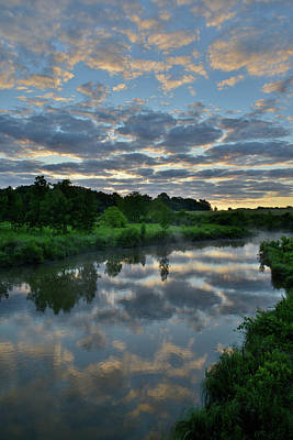 Photograph - Beautiful Reflection In Glacial Park by Ray Mathis