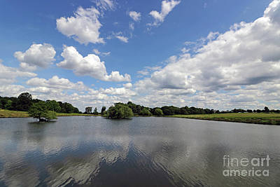 Photograph - Beautiful Reflections At The Pen Ponds by Julia Gavin