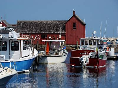 Photograph - Beautiful Rockport by Yvonne Breen