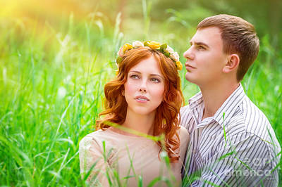 Photograph - Beautiful Romantic Couple by Anna Om