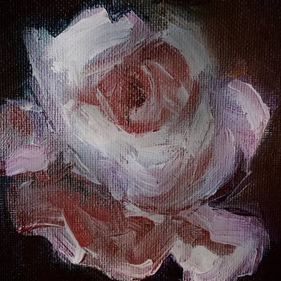 Painting - Beautiful Rose Beautiful Story by Michele Carter