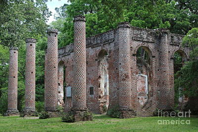 Civil War Site Photograph - Beautiful Ruins by Carol Groenen