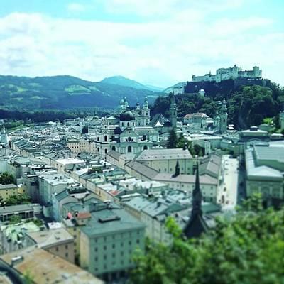 Mozart Photograph - #beautiful #salzburg #austria by Thomas Zimmermann