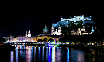 Print featuring the photograph Beautiful Salzburg by David Morefield