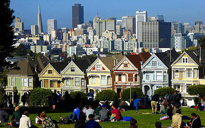 Photograph - Beautiful San Francisco by Peter Potter