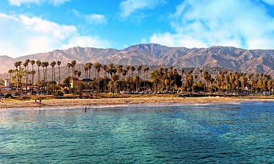 Photograph - Beautiful Santa Barbara Coastline by Lynn Bauer