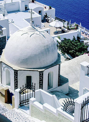 Photograph - Beautiful Santorini by Julie Palencia