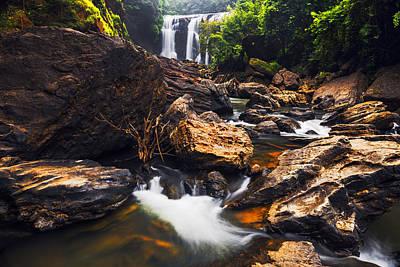 Photograph - Beautiful Sathodi Falls by Vishwanath Bhat