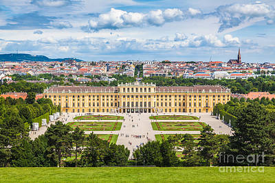 Photograph - Beautiful Schonbrunn by JR Photography