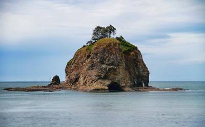 Photograph - Beautiful Sea Stack Washington Coast by Dan Sproul