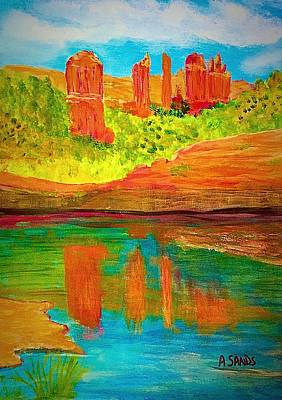 Painting - Beautiful Sedona by Anne Sands