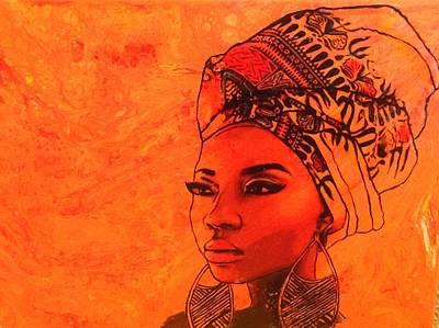 Beautiful Sista Art Print
