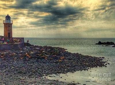 Photograph - Beautiful Skies At Portpatrick 2 by Joan-Violet Stretch