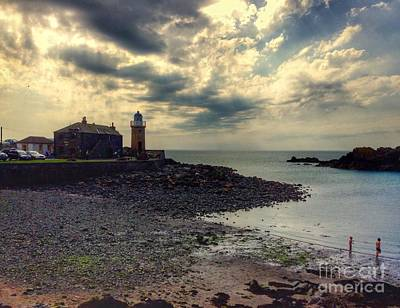 Photograph - Beautiful Skies At Portpatrick by Joan-Violet Stretch