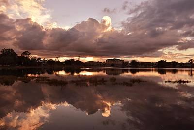 Photograph - Beautiful Sky At Sunset by rd Erickson
