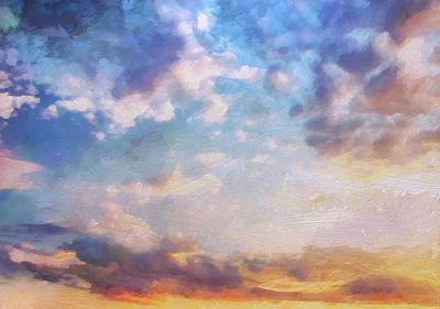 Painting - Beautiful Sky by Lelia DeMello