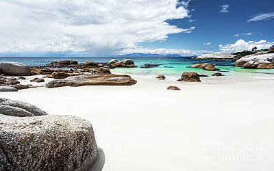 Photograph - Beautiful South African Beach Landscape by Anna Om
