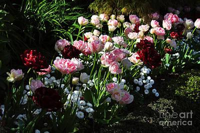 Beautiful Spring Flowers Art Print by Louise Heusinkveld