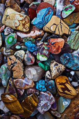Mineral Photograph - Beautiful Stones by Garry Gay