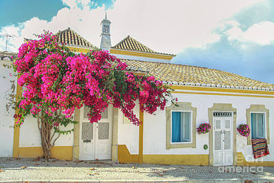 Photograph - Beautiful Street In Tavira, Portugal by Patricia Hofmeester