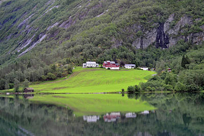 Photograph - Beautiful Stryn by Terence Davis