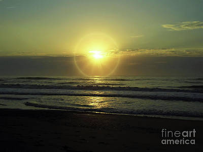 Photograph - Beautiful Sunrise Over The Atlantic by D Hackett