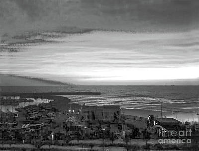 Shinx Photograph - Beautiful Sunset In Black And White by Doc Braham