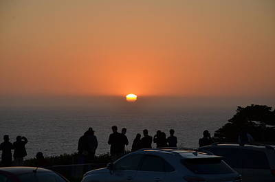 Photograph - Beautiful Sunset by Man Chong