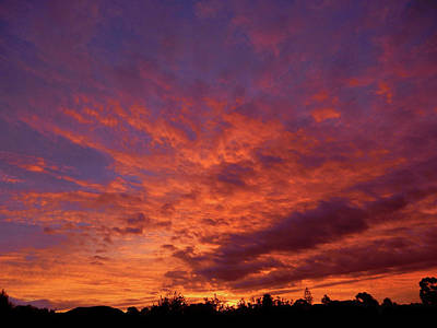 Photograph - Beautiful Sunset by Mark Blauhoefer